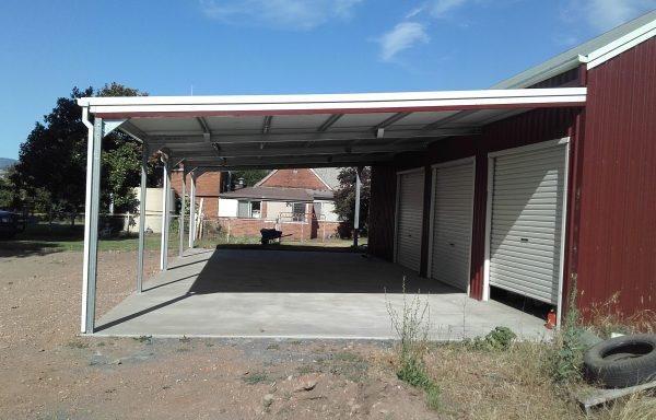 Carports and Lysaght Living Collection